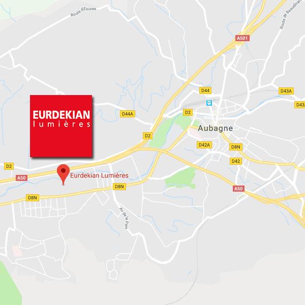 Plan acces Eurdekian Lumieres